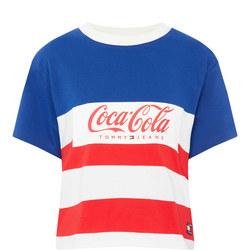 Coca-Cola Striped T-Shirt