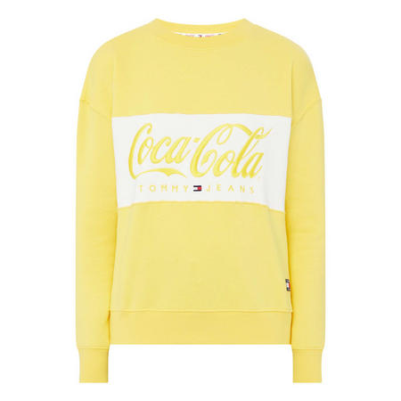 Coca Cola Long Sleeve Sweat Top