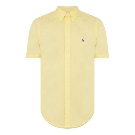 Slim Twill Short Sleeve Shirt