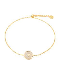 Gorjana Heart Coin Bracelet
