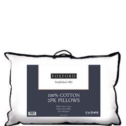 Foxford 100% Cotton Cover Pillow Pair