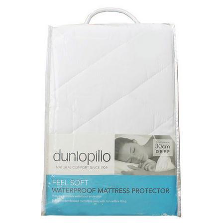 Dunlopillo Quilted Waterproof Mattress Protector