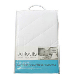 Dunlopillo Quilted Waterproof Mattress Protector