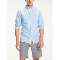 Cotton Linen Gingham Shirt