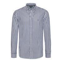 Two Tone Dobby Stripe Shirt