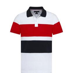 Stripe Slim Polo Shirt