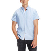 Organic Oxford Short Sleeve Shirt