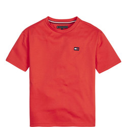 Boxy Back Print T-Shirt