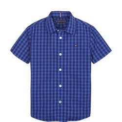 Overdye Gingham Shirt