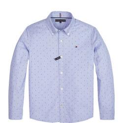 Fill Print Custom Fit Shirt