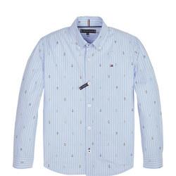 Fashion Geo Mini Print Shirt