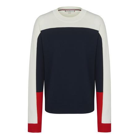 Jaden Colour Block Crew Neck Sweater