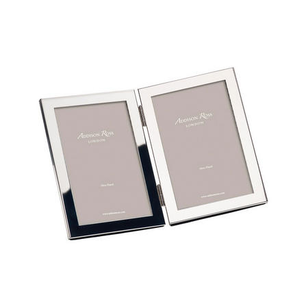 15mm Double Silver Frame with Squared Corners 8x10 Inches