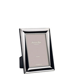 Beaded Silver Plated Photo Frame 8x10 Inches