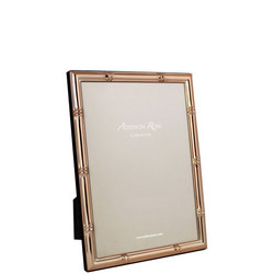 Bamboo Rose Gold Photo Frame 5x7 Inches