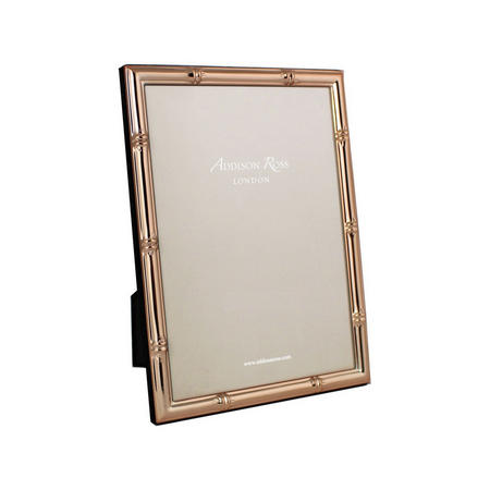 Bamboo Rose Gold Photo Frame 4x6 Inches
