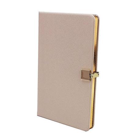 Grey & Gold A5 Notebook