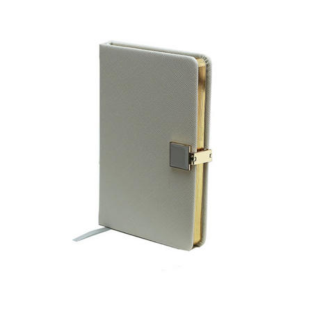 Grey & Gold A6 Notebook