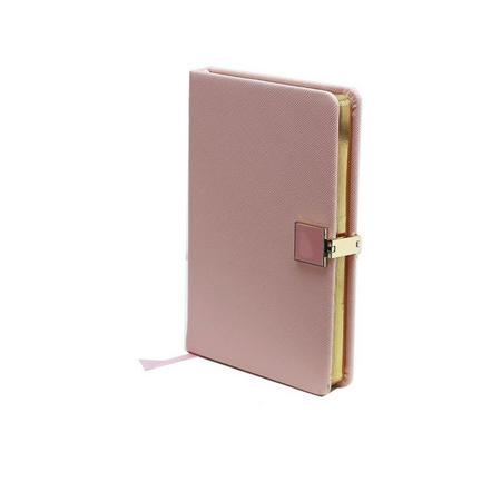 Pink & Gold A6 Notebook