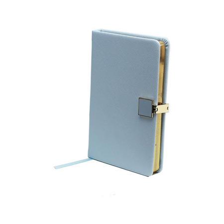 Blue & Gold A6 Notebook
