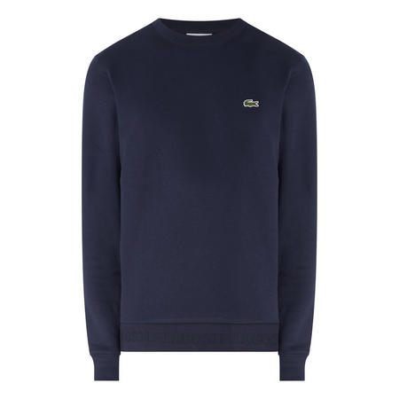 Logo Hem Sweat Top