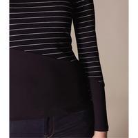 Striped Panel T-Shirt
