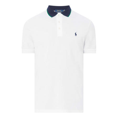 Striped Tipped Polo Shirt