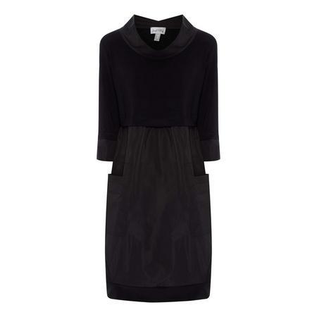 Cropped Sleeve Dress