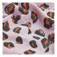 Leopard Print Cropped T-Shirt
