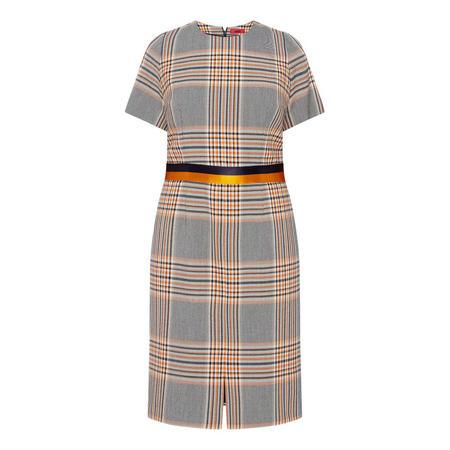Koni Checked Dress