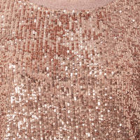 Sequin Silk Blouse