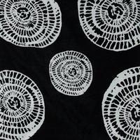 Circle Print Along Scarf