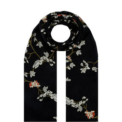 Along Floral Print Scarf