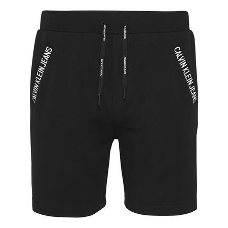 Logo Trim Jogger Shorts