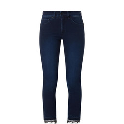 Secret Glamour Cropped Jeans