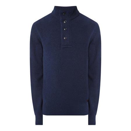 Half Button Sweater