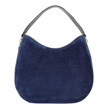 Alpha Suede Hobo Bag