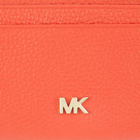 Pebbled Leather Small Wallet