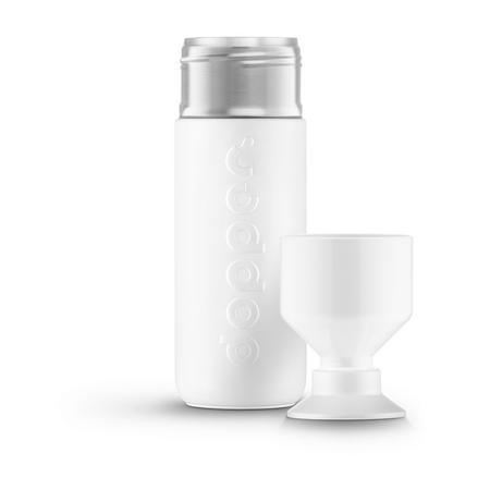 Insulated Bottle Wavy White 350ml
