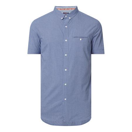 Premium University Short Sleeve Check Shirt