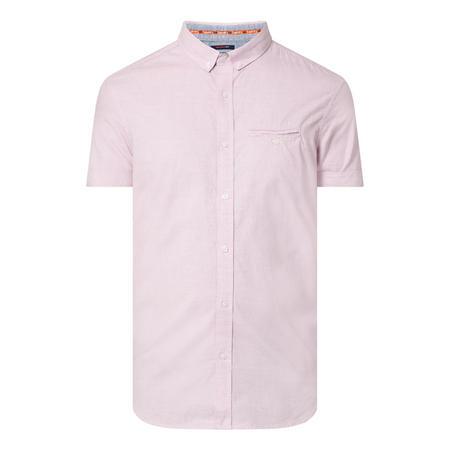 Premium University Short Sleeve Stripe Shirt