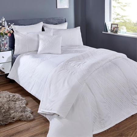 White Collection Milan Square Pillowcase