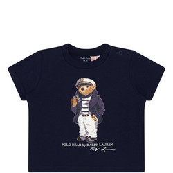 7b38b7eed1a New In Boys Sailor Teddy Bear T-Shirt