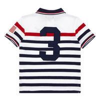 Boys Stripe Polo Shirt