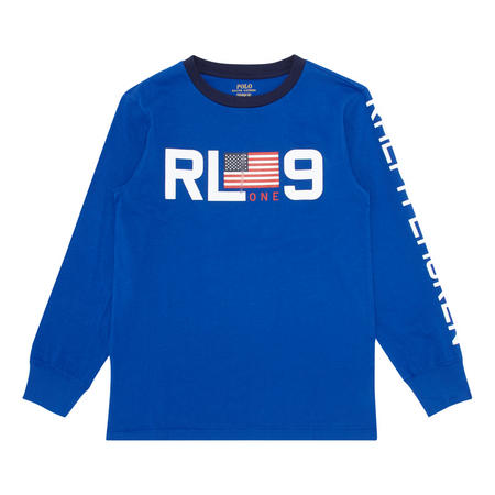 Boys Long Sleeve Logo T-Shirt