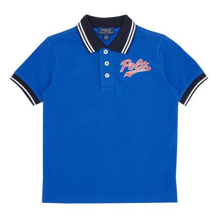 Boys Tech Logo Polo Shirt