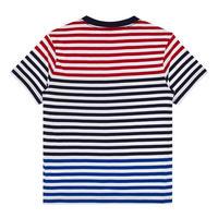 Boys Logo Striped T-Shirt