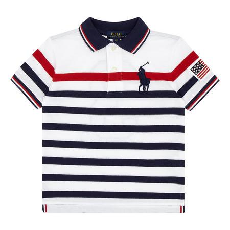 Colour Block Rugger Polo Shirt