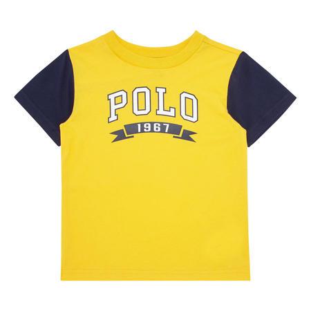 Boys Crew Neck Logo T-Shirt