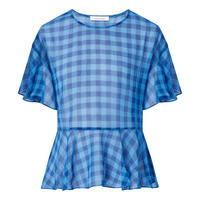 Cherie Gingham Top